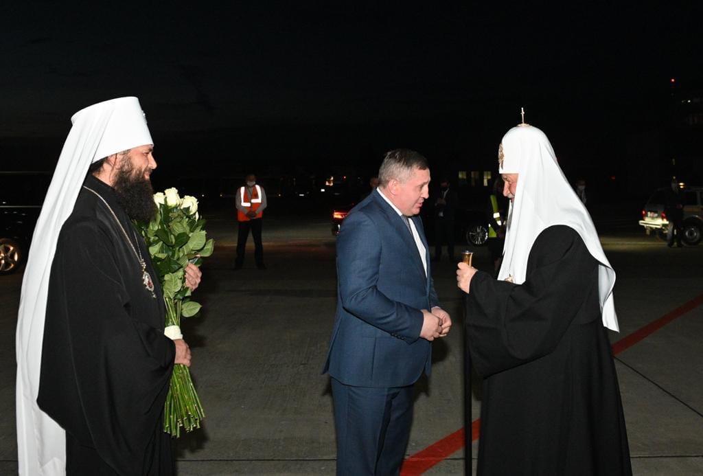 Патриарх Кирилл все-таки прибыл в Волгоград
