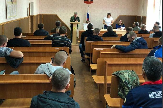 Волжские резервисты отправились на первые военные сборы