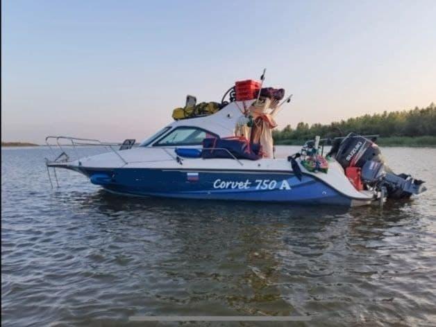 """Исчезнувший катер """"Корвет-750А"""" с семью пассажирами был обнаружен в Дагестане"""