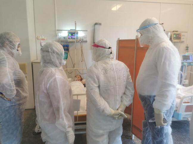 Пациентов «красной зоны» в Волжском призвали сбросить лишний вес