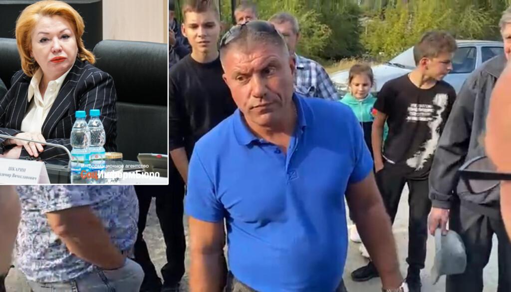 «Сейчас будет драка»: сотрудники фирмы депутата от «Единой России» забаррикадировали въезд на кладбище
