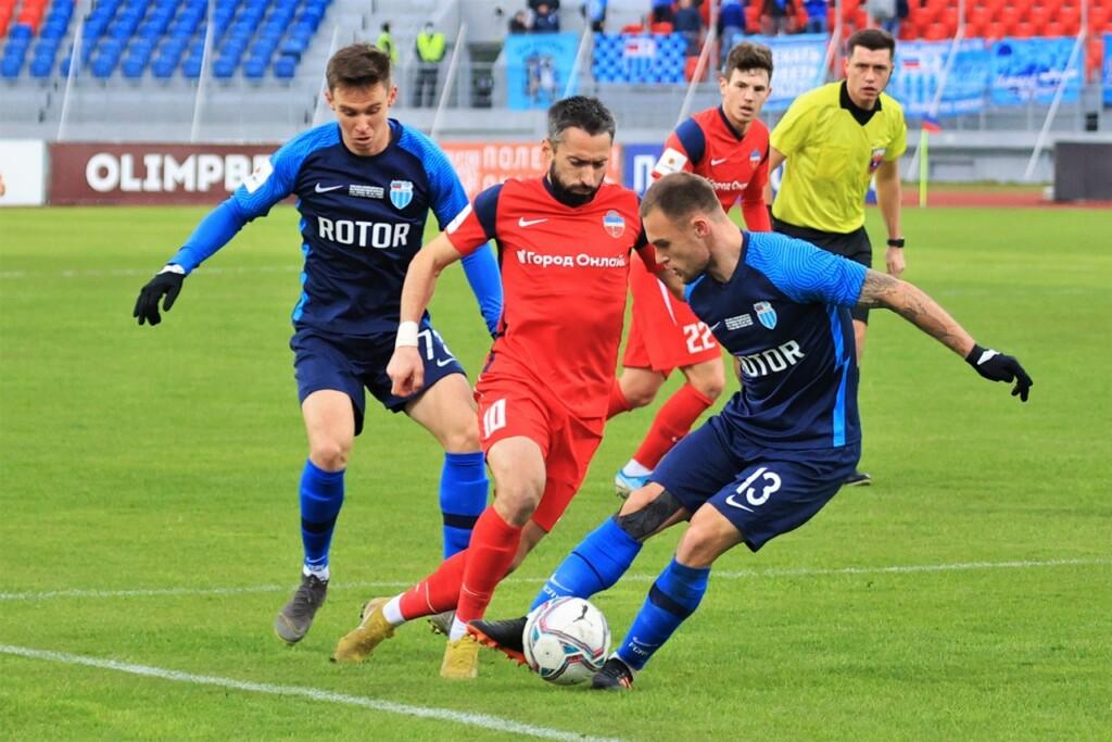 Очередной ничьей завершился матч с участием волгоградских футболистов