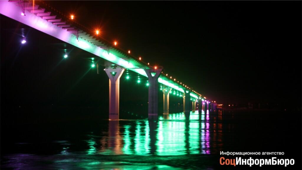 В Волгограде на три ночи закроют движение по «танцующему» мосту